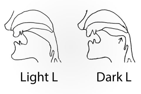 How to pronounce the letter L